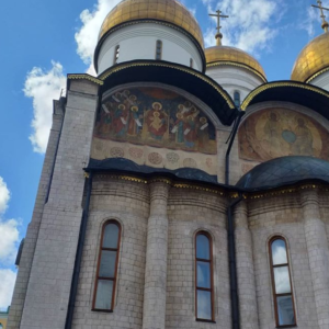 Assumption cathedral of Moscow Kremlin