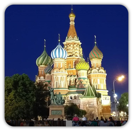St Basil Cathedral . Red Square