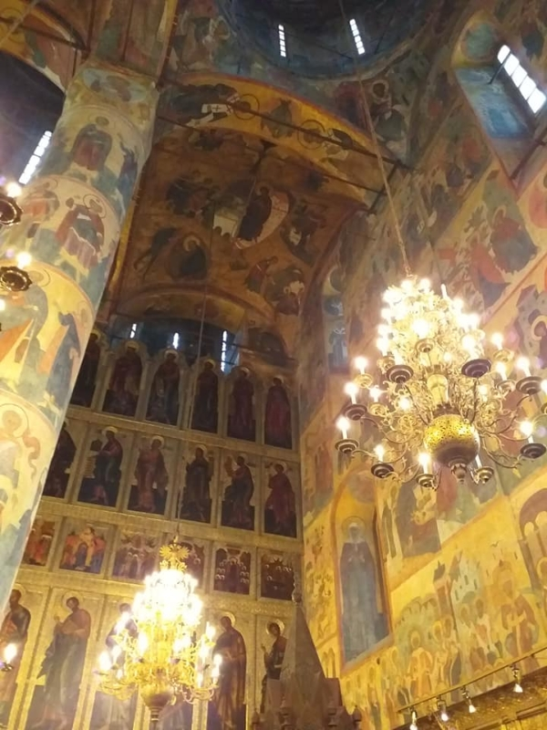 Assumption cathedral 1479 Moscow Kremlin private tour