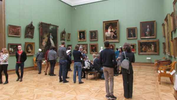 Tretyakov gallery tour with a guide