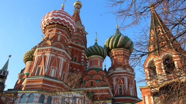 St. Basil's cathedral Red Square