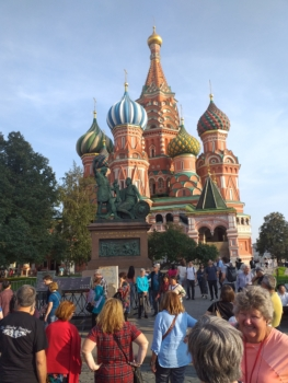 St.Basil's Cathedral Red Square
