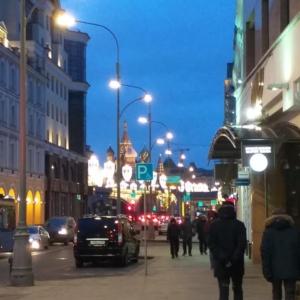 Moscow streets . Zamoskvorechie