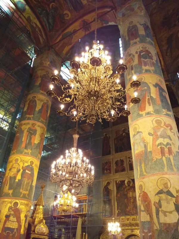 Assumption cathedral . Moscow Kremlin