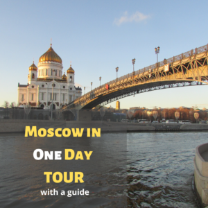 Moscow in one day
