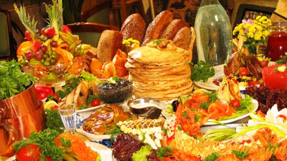 Russian cuisine.Russian foods