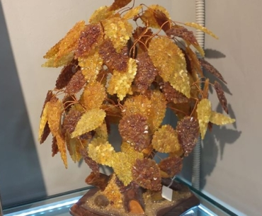 Russian souvenirs . Russian Amber tree