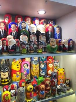 Russian souvenirs. Matryoshka Doll