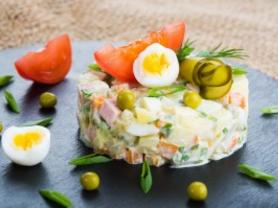 Olivier Salad . Russian salad