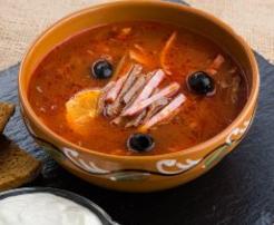 Solyanka Russian soup