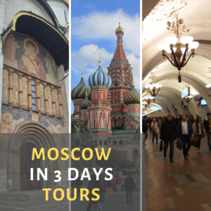 Moscow in 3 Days tours