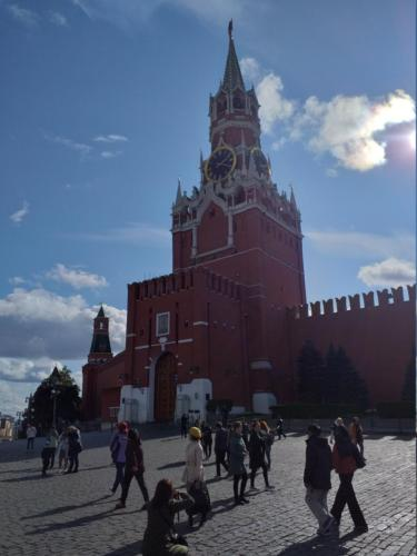 Red Square . Saviours tower