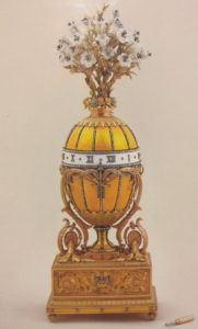 Fabergé Egg clock